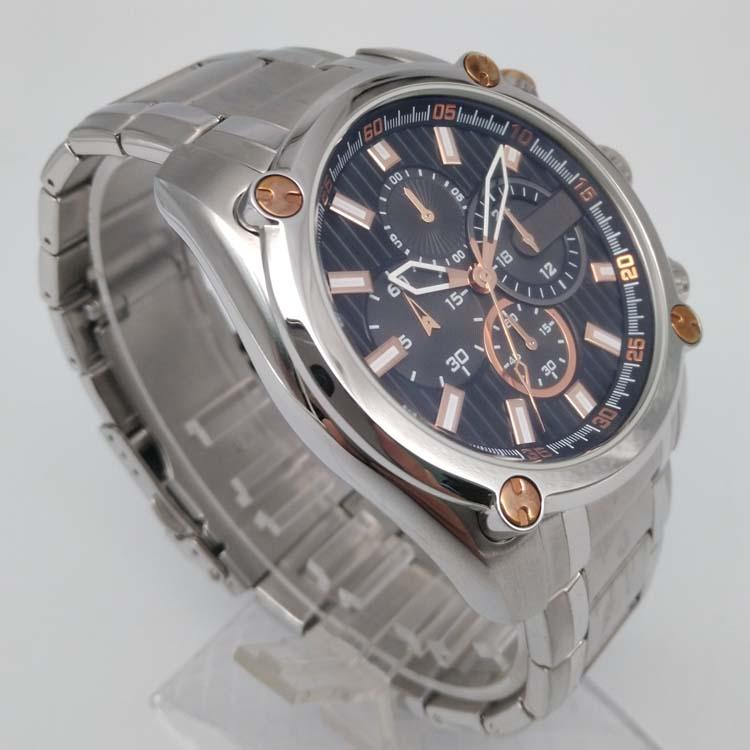 Stainless Steel Watch with Calendar SMT-1026 4