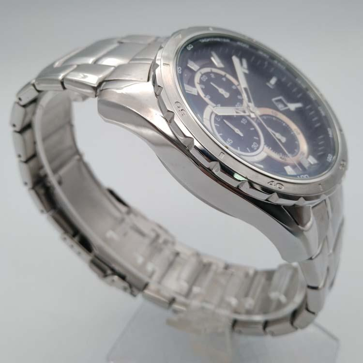 Stainless Steel Watch with Calendar SMT-1027 3