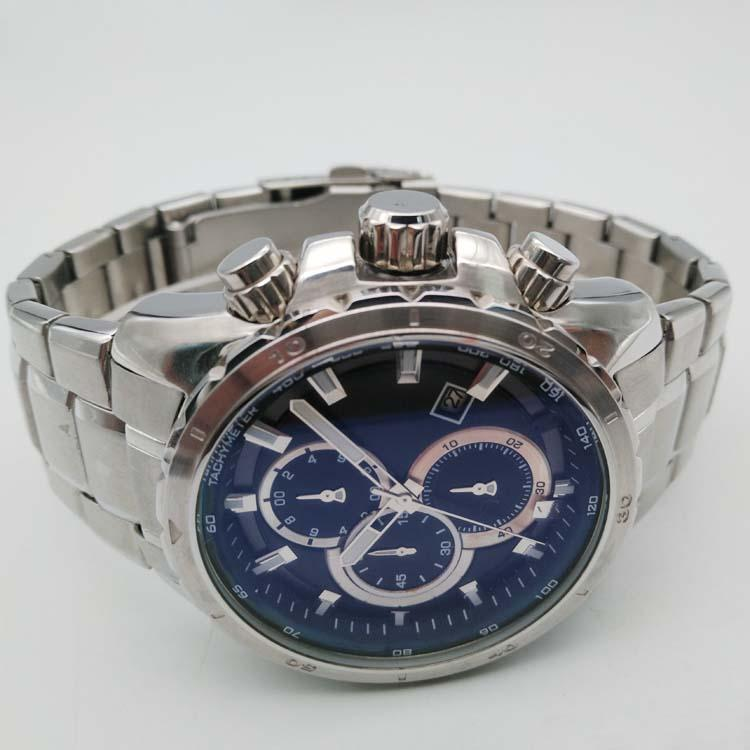 Stainless Steel Watch with Calendar SMT-1027 4