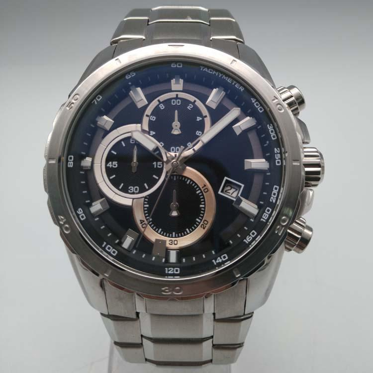 Stainless Steel Watch with Calendar SMT-1027 1