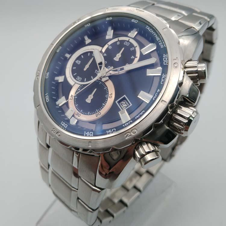 Stainless Steel Watch with Calendar SMT-1027 2