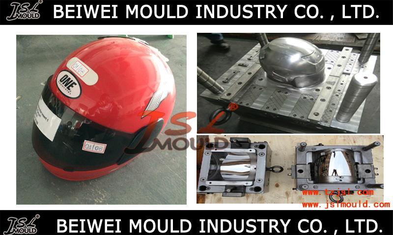OEM Custom Injection plastic full half face open motorcycle helmet mould 1
