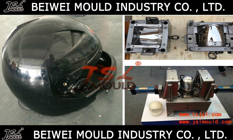 OEM Custom Injection plastic full half face open motorcycle helmet mould 2