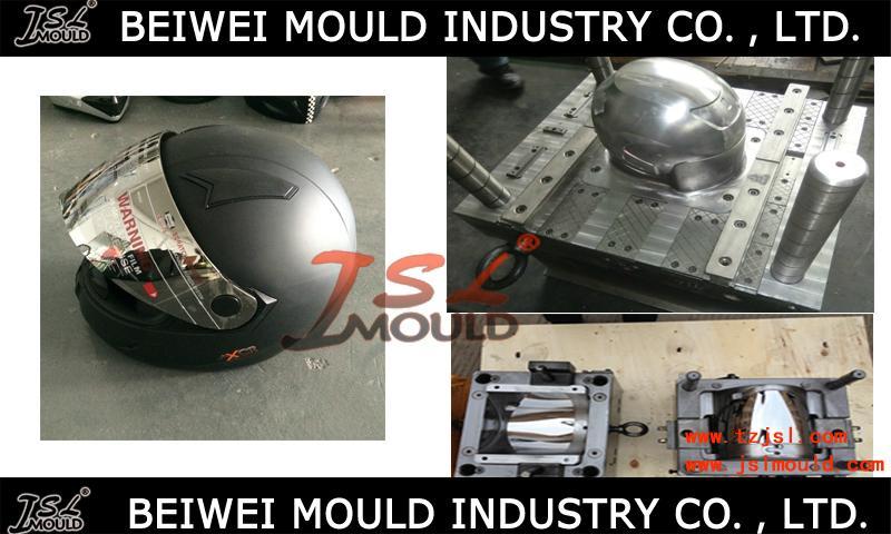 OEM Custom Injection plastic full half face open motorcycle helmet mould 3