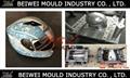OEM Custom Injection plastic full half face open motorcycle helmet mould 4