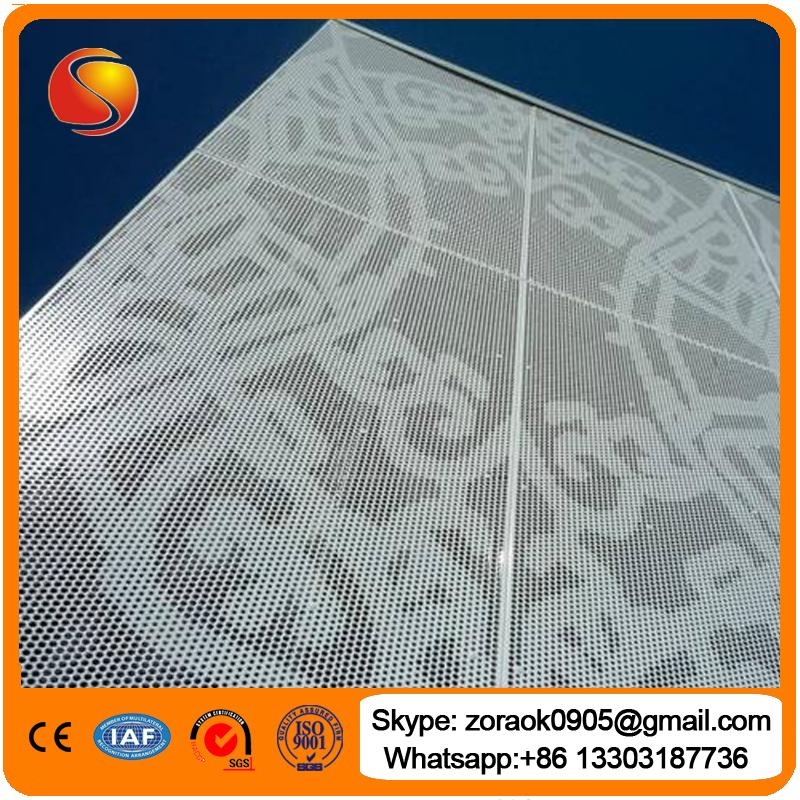 Perforated metal mesh 3