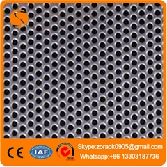 High quality low price perforated metal mesh