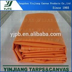 pvc d-ring tarpaulin for equipment cover