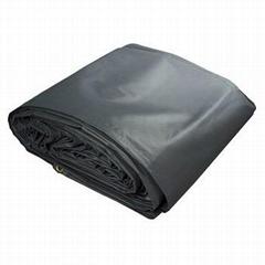 24'x27' pvc vinyl coated fabric flatbed lumber tarps