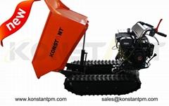Manufacturer Agricultural Hydraulic Mini Dumper Crawler