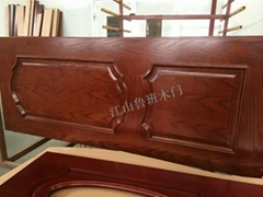 江山鲁班实木复合烤漆门