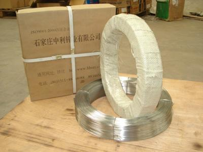 high quality zinc wire for Ductile iron pipe  1