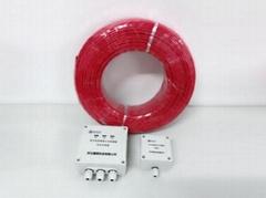 厂家直销缆式线型感温火灾探测器感温电缆