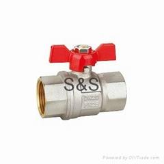 New fashion brass ball valve