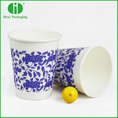 Wood pulp healthy and safe disposable paper cups