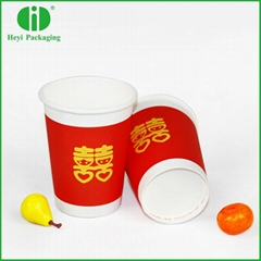 FDA certificated foaming paper coffee cups