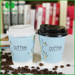FDA certificated take away paper coffee cups