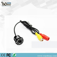 Small Butterfly Front Side View reversing Camera CCD HD Night Vision Car Camera