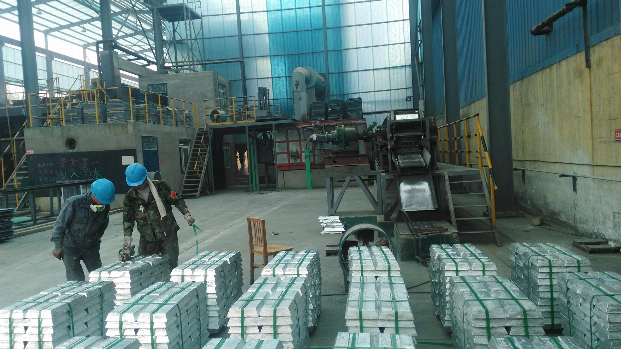 ASTM B29-03 Lead Ingot 99.99% Purity for Cable Sheathing 3