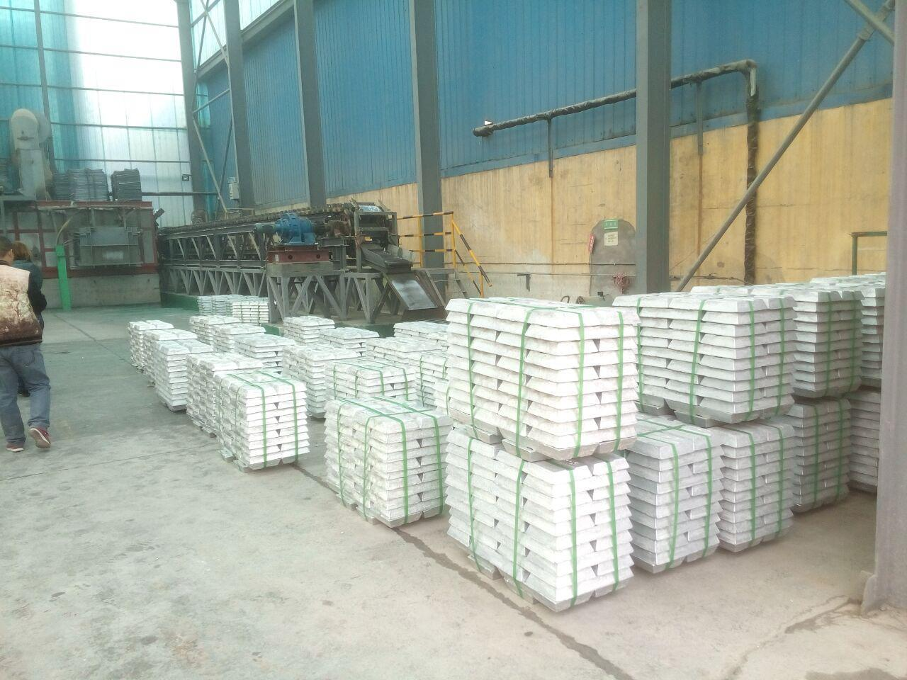 ASTM B29-03 Lead Ingot 99.99% Purity for Cable Sheathing 4