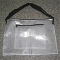 耐寒阻燃PVC透明夹网布