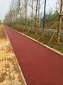 供應廣州彩色瀝青路面專用鐵紅色粉顏料  2