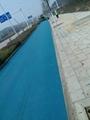 供應廣州彩色瀝青路面專用鐵紅色粉顏料  4