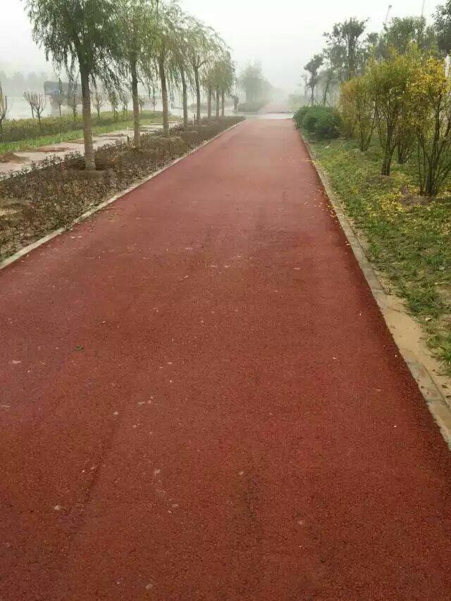 供應廣州彩色瀝青路面專用鐵紅色粉顏料  5