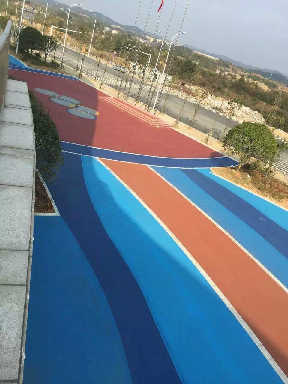 耐磨地坪鐵綠色粉耐晒抗紫外線 2