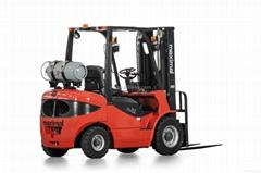 2.5 Tons Forklift LPG Gasoline Engine Forklift