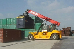 maximal 45 tons reach stacker specification