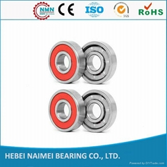 High precision roller skate ball bearings abec 608 skateboard reds bearings