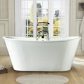 skirted cast iron bathtub