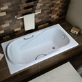 drop-in cast iron bathtub 1