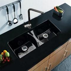 Undercounter Kitchen  cast iron sinks