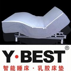智能床護腰多功能電動床   乳膠智能睡床睡眠系統生產廠家