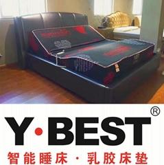 一百匯智能床 電動床 電動床架 遙控昇降床墊 生產廠家