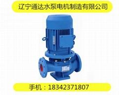 立式單級管道泵