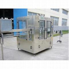 3000bph 500ml Pet Bottle Water Filling Machine / 3-in-1 Monobloc Pet Bottle Wash