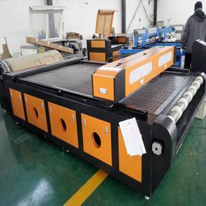 易雕YD1626汽车脚垫激光切割机 自动送料 1