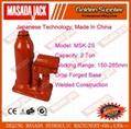 2 Ton Welded Construction Hydraulic Bottle Jack 1