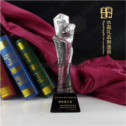 創新技術水晶獎杯 2
