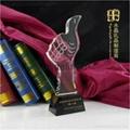 創新技術水晶獎杯 4