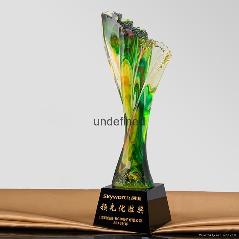 創新琉璃獎杯 1