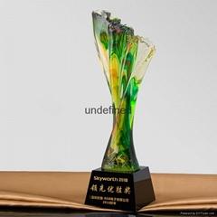 創新琉璃獎杯