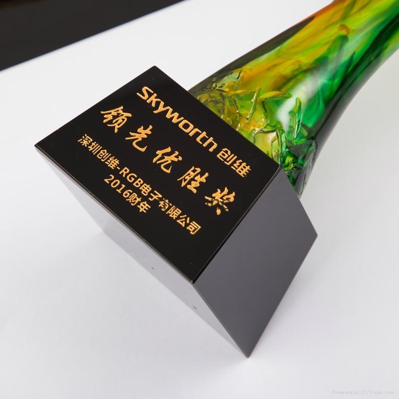 創新琉璃獎杯 2