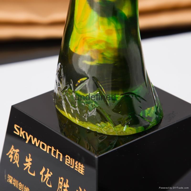 創新琉璃獎杯 5