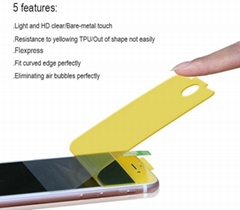 TPU screen protector for surface screen anti-shock 360° full coverage
