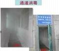 人員通道消毒噴霧系統