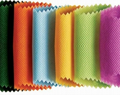 Filter with polyester spun-bonded non-woven fabrics